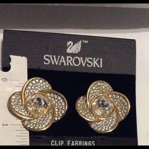 Swarovski Clip Earrings Jewelry